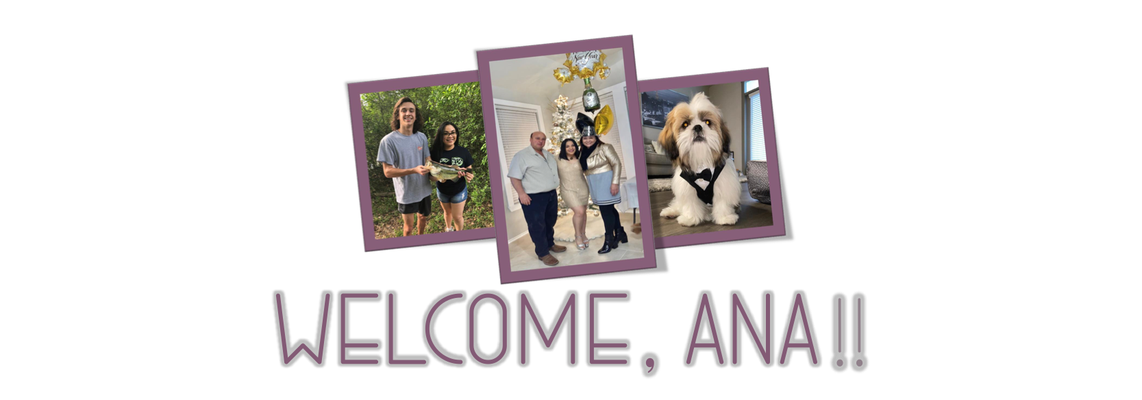 August 2021 Welcome Anna Banner